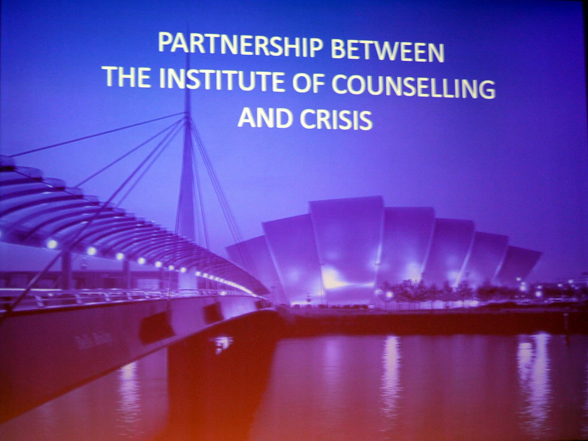 The Partnership between The Institute of Counselling & Crisis